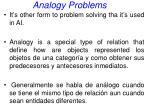 analogy problems