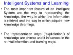 intelligent systems and learning34