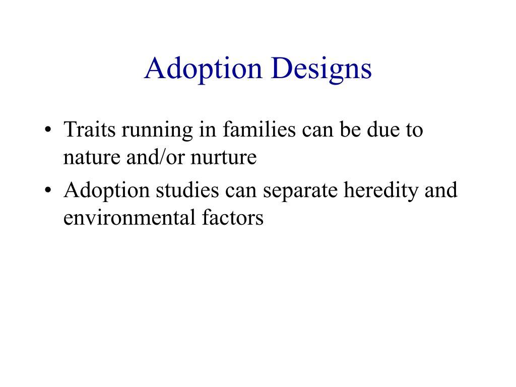 Adoption Designs