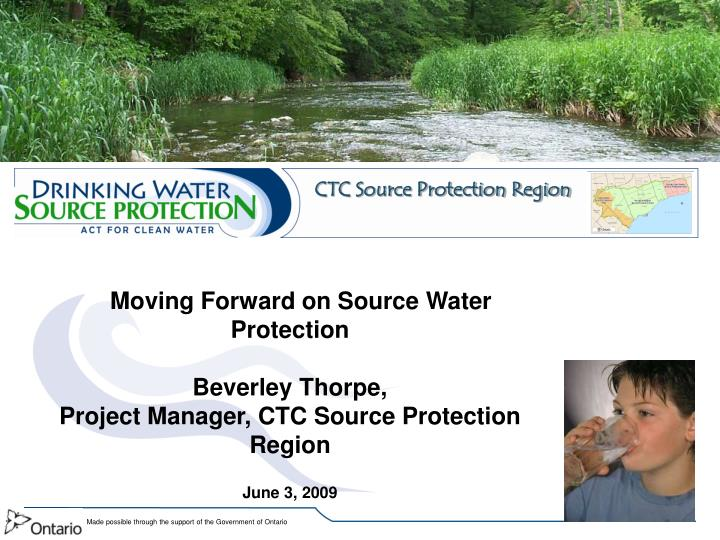 CTC Source Protection Region