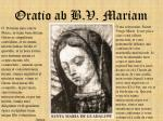 oratio ab b v mariam