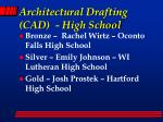 architectural drafting cad high school