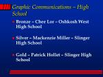 graphic communications high school