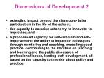 dimensions of development 2