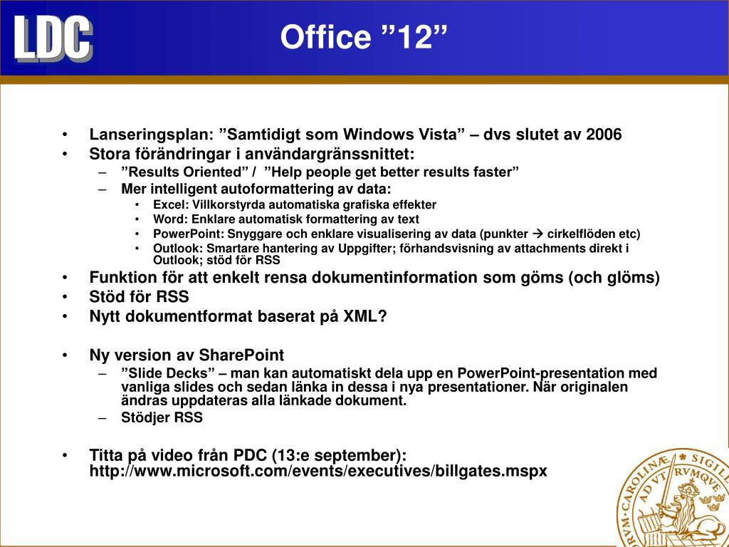 "Office ""12"""