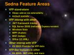 sedna feature areas