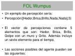 fol wumpus