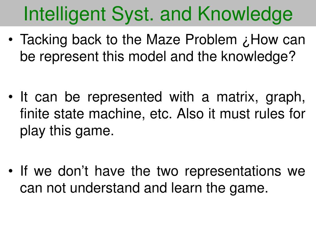 Intelligent Syst. and Knowledge