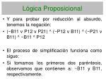 l gica proposicional147