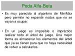 poda alfa beta
