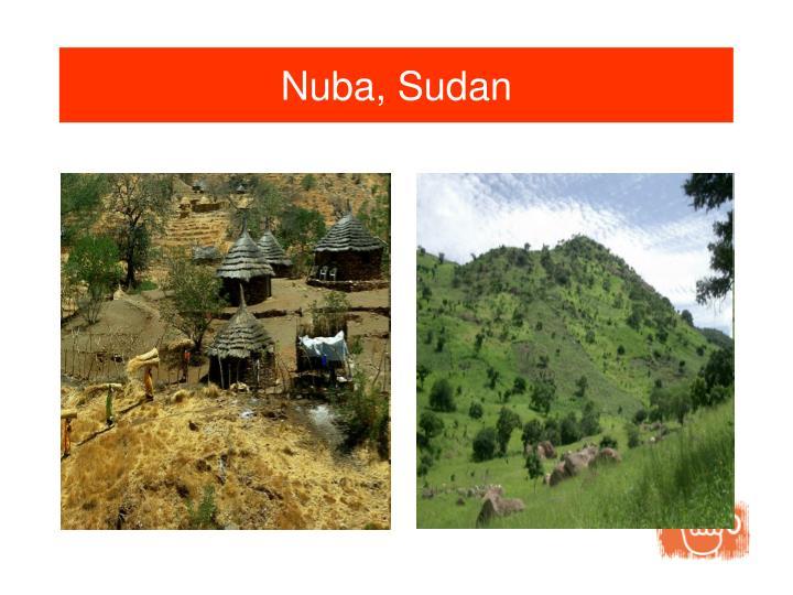 Nuba, Sudan