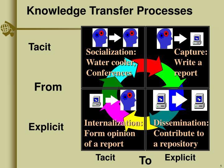 Knowledge Transfer Processes
