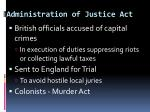 administration of justice act