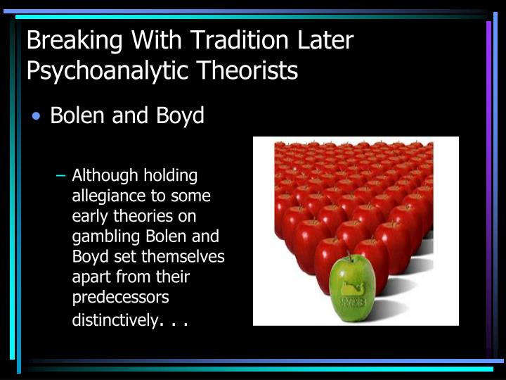 Breaking With Tradition Later Psychoanalytic Theorists