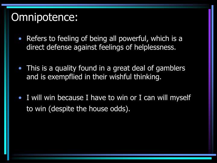Omnipotence: