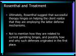 rosenthal and treatment
