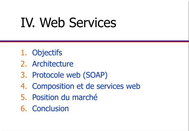 Iv web services