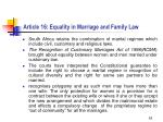 article 16 equality in marriage and family law