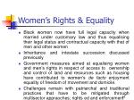 women s rights equality
