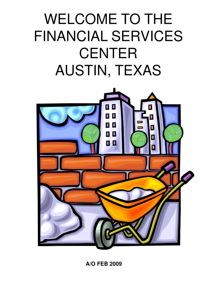 welcome to the financial services center austin texas n.