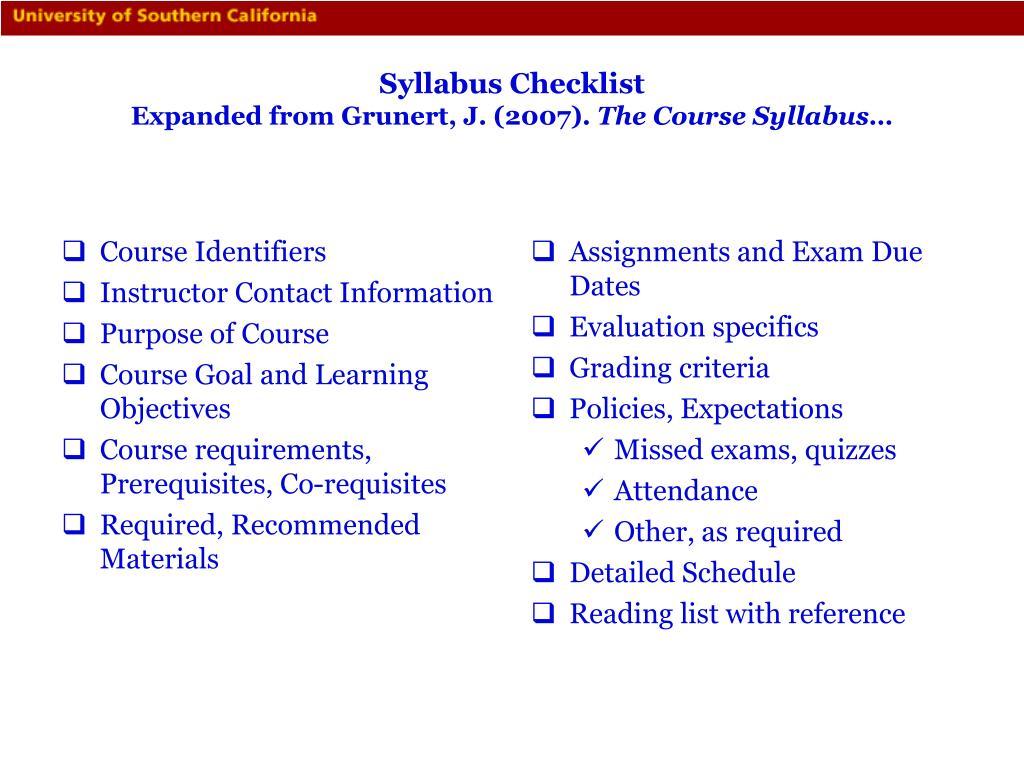 Course Identifiers