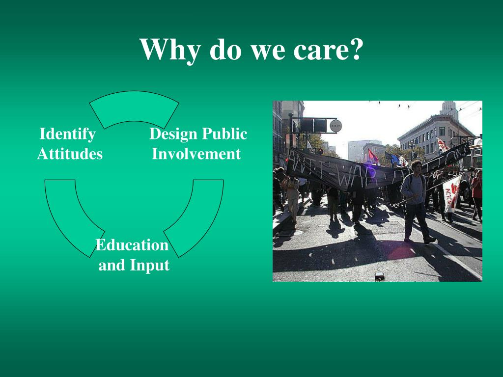 Why do we care?