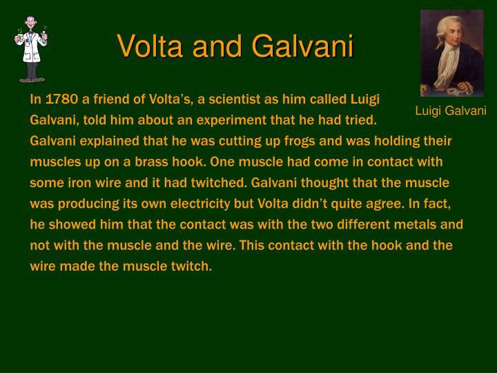volta and galvani Shocking frogs: galvani, volta, and the electric origins of neuroscience: 9780199782161: medicine & health science books @ amazoncom.