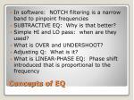 concepts of eq
