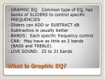 what is graphic eq