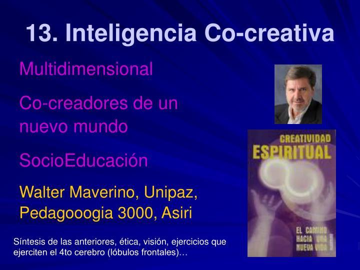 13. Inteligencia Co-creativa