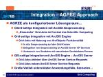 integration agree approach18