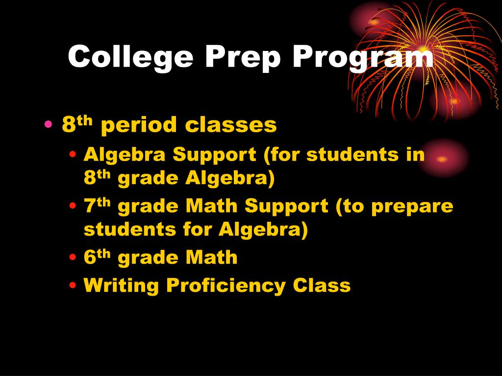 College Prep Program