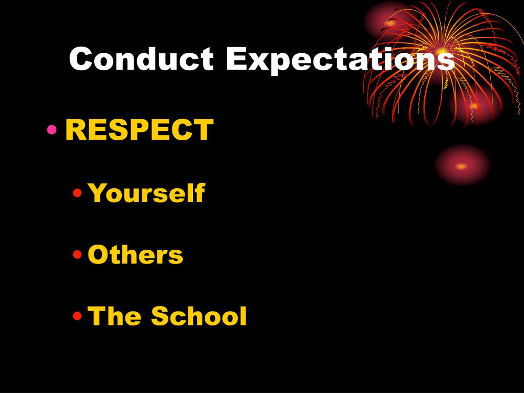 Conduct Expectations