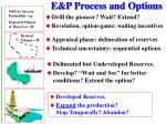 e p process and options28