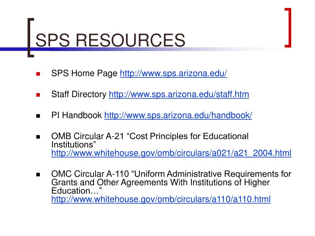 SPS RESOURCES