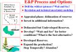 e p process and options27