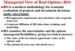 managerial view of real options ro43