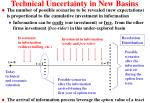 technical uncertainty in new basins