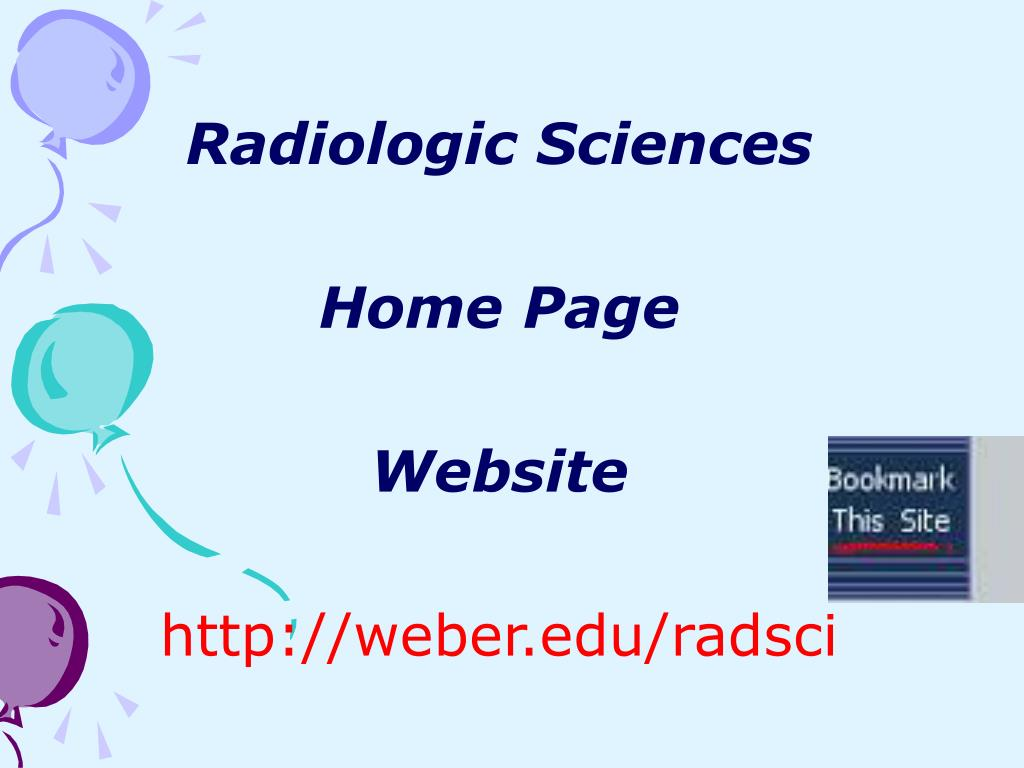 Radiologic Sciences