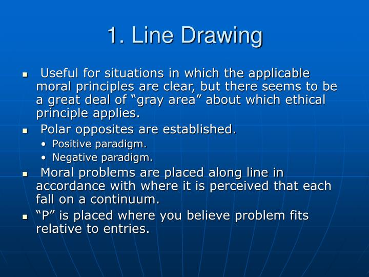 Line Drawing Technique Ethics : Ppt ie industrial engineering internship powerpoint