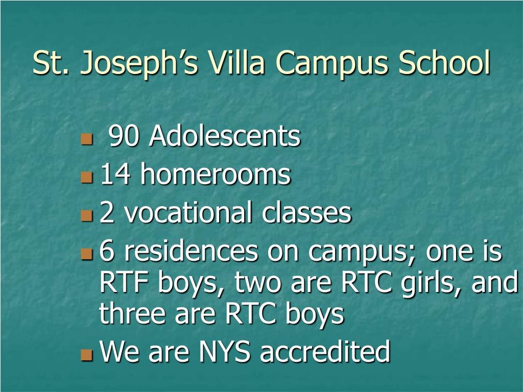 St. Joseph's Villa Campus School