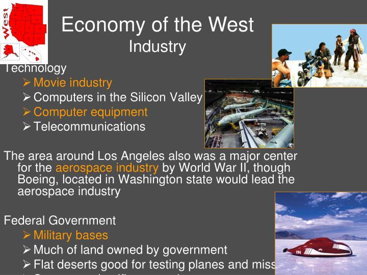 Economy of the West