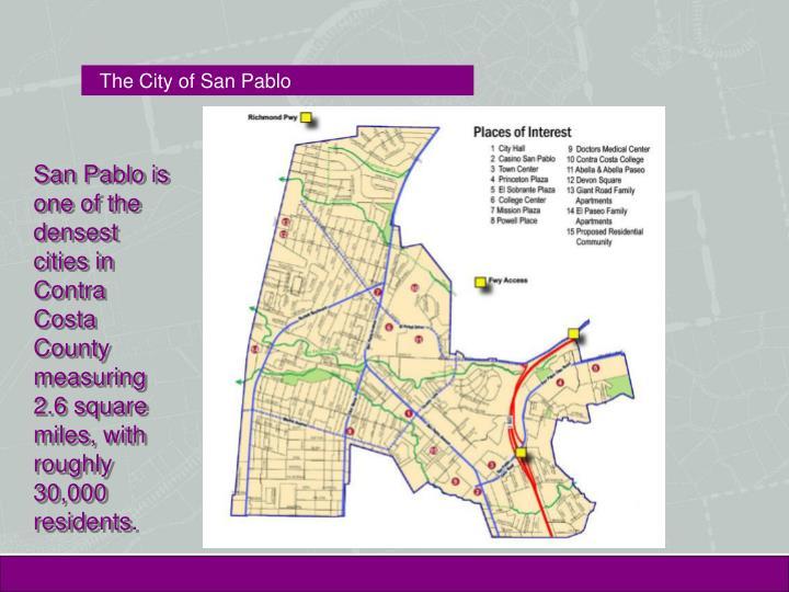 The city of san pablo
