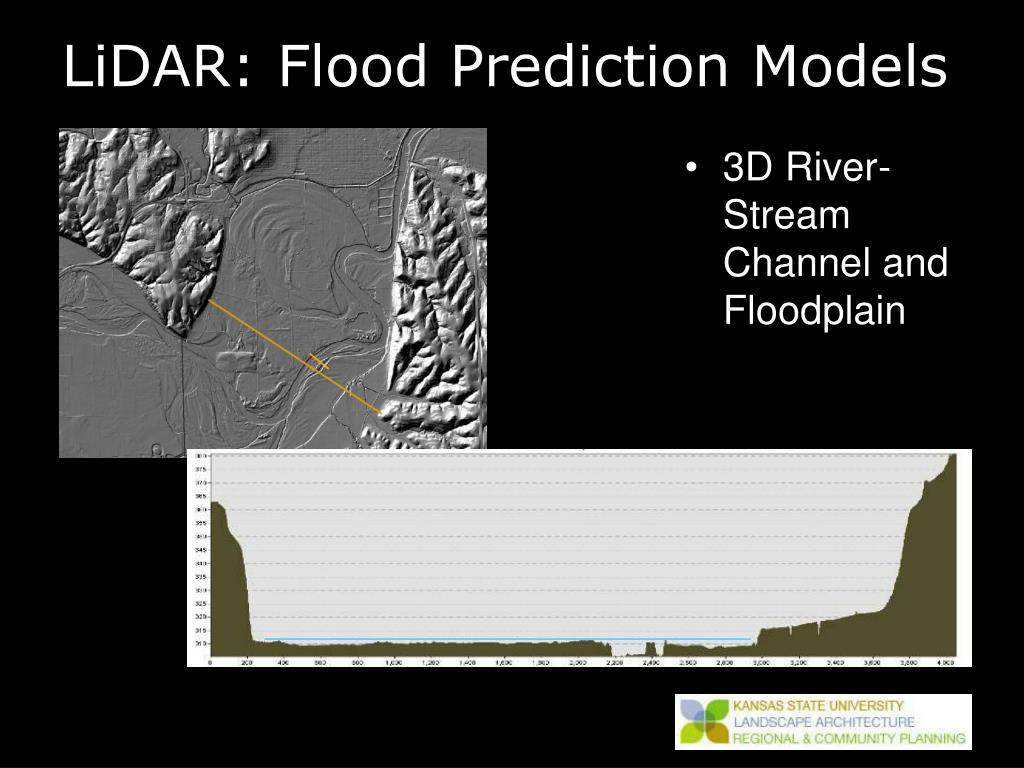 LiDAR: Flood Prediction Models
