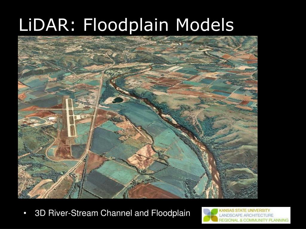 LiDAR: Floodplain Models