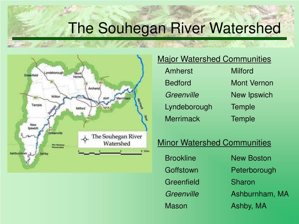 The Souhegan River Watershed