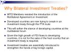 why bilateral investment treaties