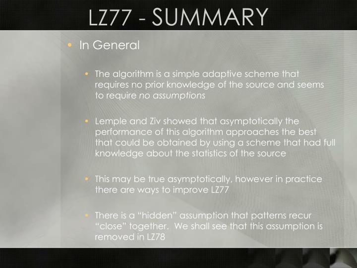 LZ77 -