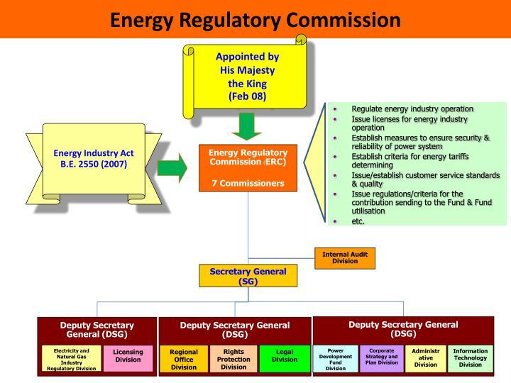 Energy Regulatory Commission