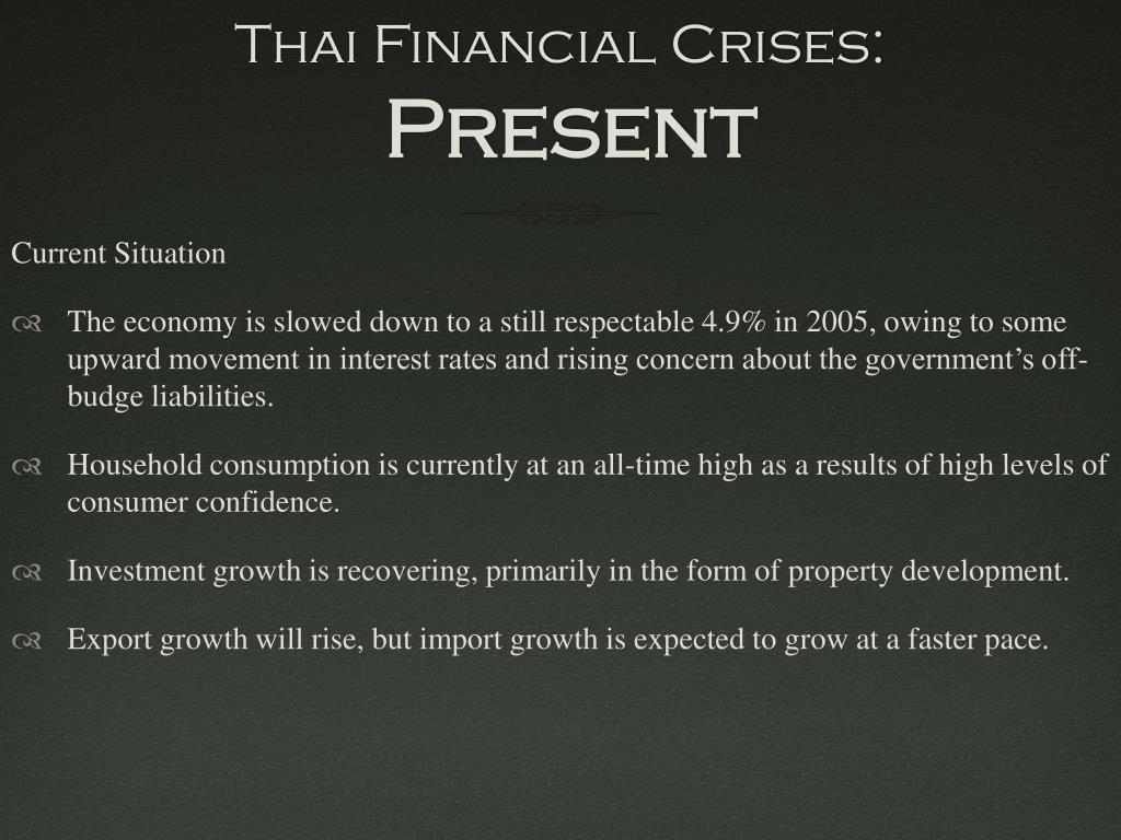 Thai Financial Crises: